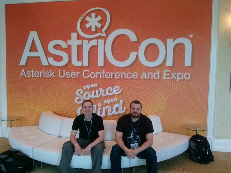 Tide Software employees on AstriCon conference