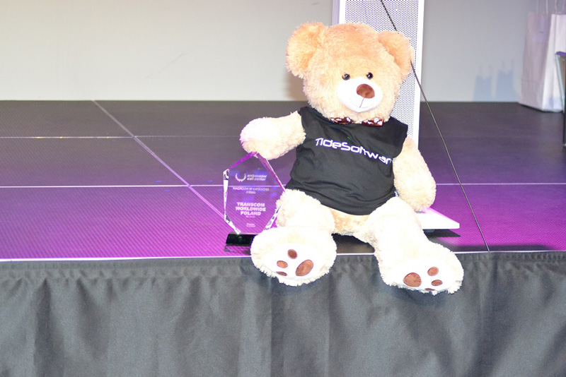 Tide Teddy from Tide Software as an award in the Company category